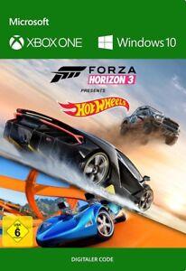 Xbox One / Windows 10 PC Forza Horizon 3 & Hot Wheels DLC Key Digital Code DE/EU