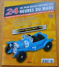 Fascicule Les plus belles voitures 24H Mans, Altaya, n°60, Chenard et Walcker