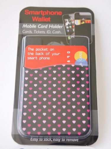 Mayhem Silicone Smartphone Wallet Mobile Phone Pouch Card Holder