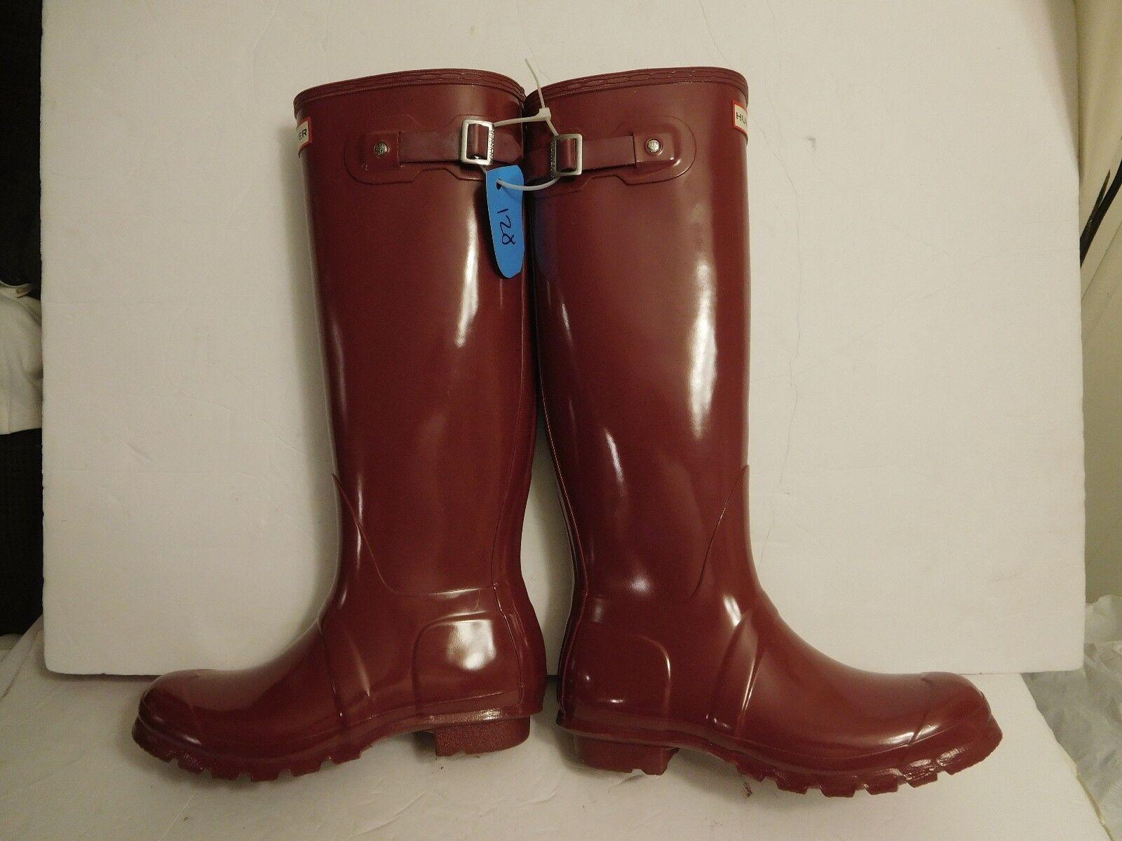 B-128 Hunter Original Tall' ' para botas Lluvia botas para Marrón Brillante (mujeres) Talla 8  150.00 2a23fe