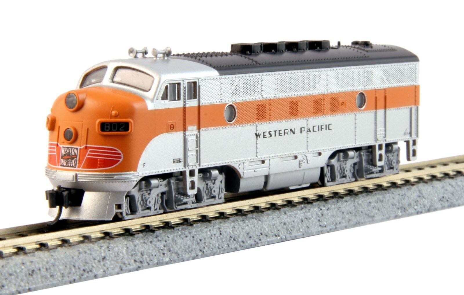 Kato 176-1202 *WESTERN PAC* F3 A  802   DC OR DCC