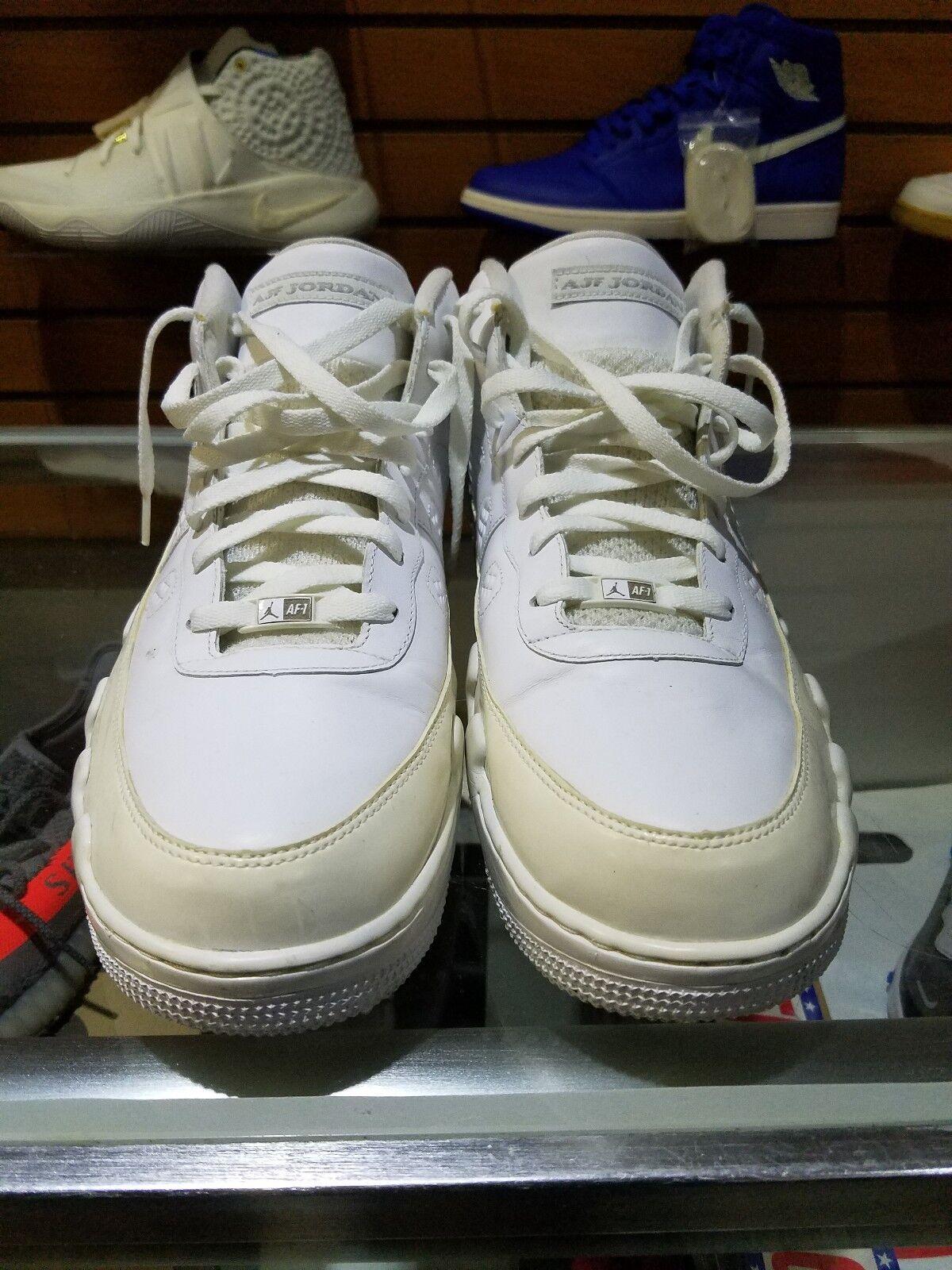 Unreleased 2009 Nike Air Force 1 Jordan 9 Low AJF1 Sample SZ 15 White 315122-124