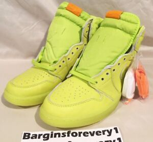 bfa6728e305 Air Jordan 1 Retro Hi OG Gatorade - Lemon Lime - Size 10 - Cyber ...