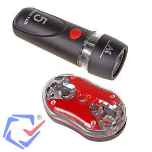 Maclean-Set-de-luces-LED-para-bicicleta-Montaje-facil-Luz-delantera-trasera-Bici