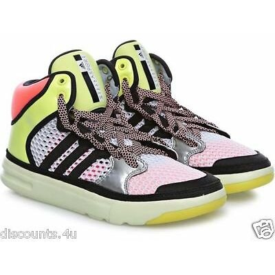 ADIDAS STELLA MCCARTNEY IRANA TRAINERS HIGH TOP MID BOOT FITNESS SIZE 6 RRP £85