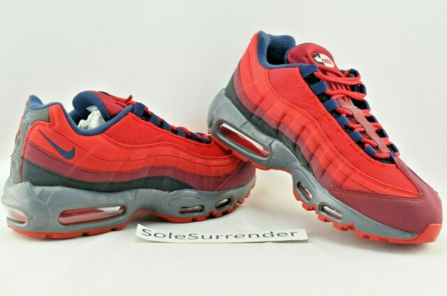 Nike Men Air Max 95 ID Custom Shoes Size 9 Blue White Style 818592 996