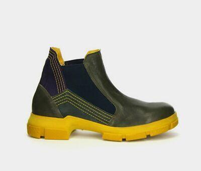 Think IAZ Boot grün-blau-gelb 5-85134-65