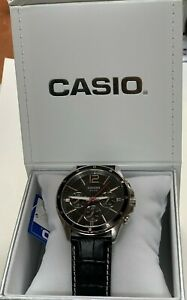 Casio-MTP-1374L-1A-Multifunction-Men-Black-Dial-MTP1374-Casio-Gift-Box
