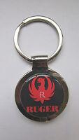Ruger Key Chain, Ruger Logo Keychain, Ruger Souvenir Keychain