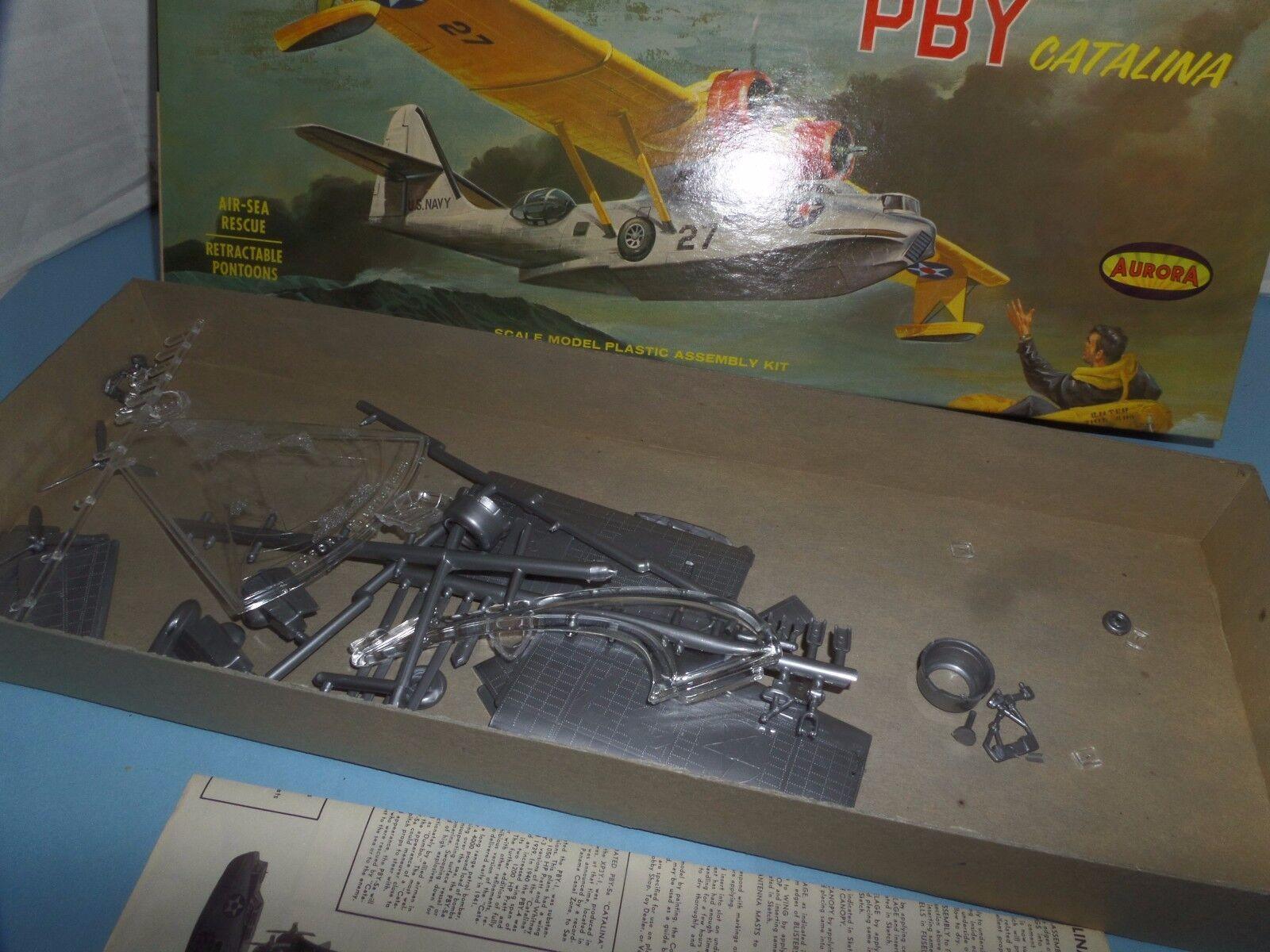 AURORA PBY CATALINA CATALINA CATALINA SEAPLANE YEAR 1962 b26faf