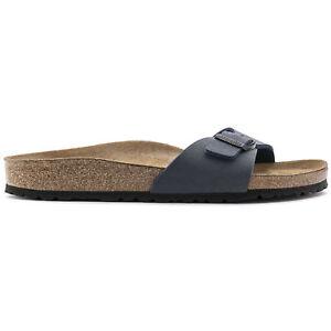 ORIGINALI-BIRKENSTOCK-MADRID-NAVY-PIANTA-STRETTA-ciabatte-sandali-scarpe