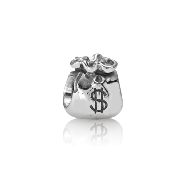 83586c5ffee0 Authentic PANDORA 925 Sterling Silver Charm Money Bag 790332 for ...