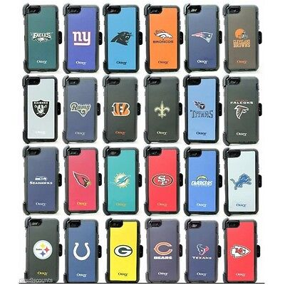 OtterBox Defender Apple iPhone 6/6s Screenless Phone Case & Clip - NFL TEAMS