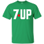 7 UP Logo Pop Brand Soda Retro Beverage T-shirt logo