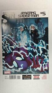 AMAZING-SPIDER-MAN-5-1st-Printing-Original-Sin-Silk-2014-Marvel-Comics
