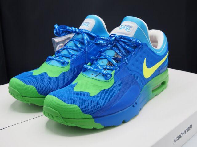 ca7eaa0386 Nike Air Max Zero DB Doernbecher Chase HYPER Cobalt/volt Size 11 ...