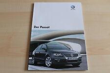 78663) VW Passat Prospekt 10/2007