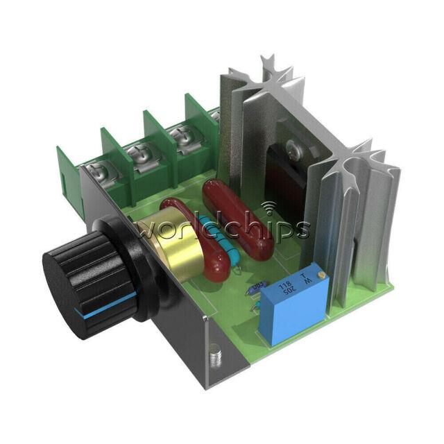2000W speed controller adjustable scr motor speed regulator gover S*ss