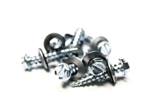 10x1 Hex Head Sheet Metal Screws Neoprene Washer 25 Roofing screws