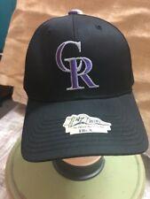 88441a5bd28e1 Colorado Rockies 47 BRAND MLB Mesh Back Stretch Fit Cap Hat Rockford ...