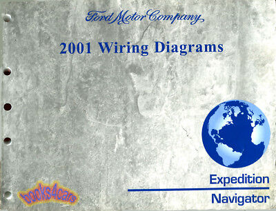 WIRING DIAGRAMS SHOP MANUAL SERVICE BOOK FORD EXPEDITION ...