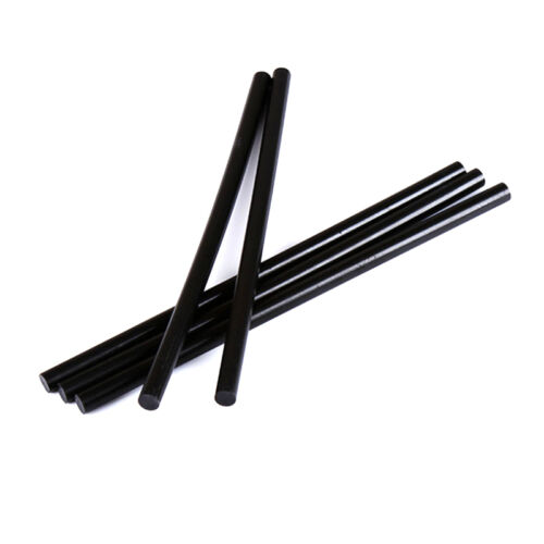 2pcs Black Hot Melt Glue Sticks 270 x 11mm Adhesive Craft Heating Glue Gun Tool