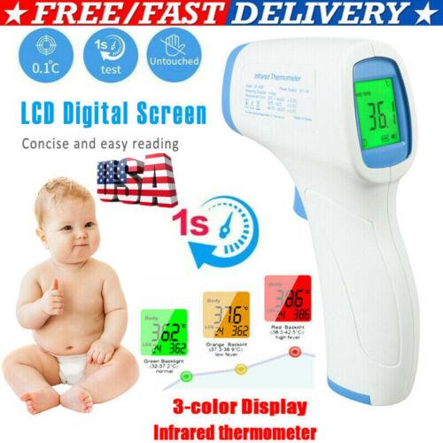 Infrared Thermometer Gun No Touch Digital Laser Temperature Reading IR Digital