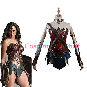 Image is loading Wonder-Woman-Diana-Princess-Justice-League-Dawn-of-  sc 1 st  eBay & Wonder Woman Diana Princess Justice League Dawn of Justice Cosplay ...