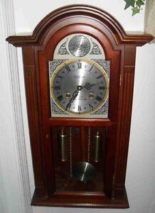 Reloj De Pared Waltham Tempus Fugit Vintage Cereza