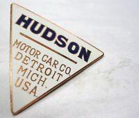 Hudson Motor Car Company Authentic Radiator Emblem Classic Detroit Mich Usa