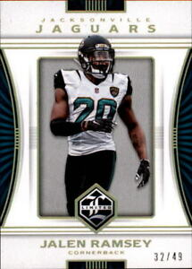 the best attitude 5443f 6a629 Details about 2017 Panini Limited Gold Spotlight #21 Jalen Ramsey 32/49  JAGUARS