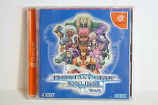 Phantasy Star Online Ver. 2 SEGA Dreamcast DC Japan Import US Seller SHIP FAST