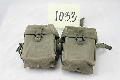 Vietnam Era M56 Ammo Pouches, Sold in Pairs