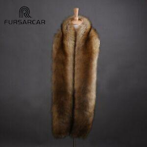 Luxury-Women-039-s-Faux-Fur-Scarf-New-175cm-Long-Winter-Imitation-Fox-Fur-Scarfs