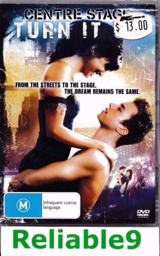 1 of 1 - Centre stage Turn it on DVD +Special features Sealed Region4-2009 Sony Australia