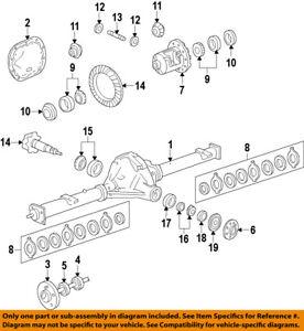 ford oem 05 14 mustang rear differential side bearings 5r3z4220aa ebay rh ebay com T a Mustang Differential Cover Mustang Rear Differential