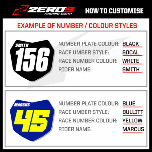 Custom MX Graphics Kit KTM SX SXF EXC EXCF XC XCW 125-500 BLOCK BLK//TAN