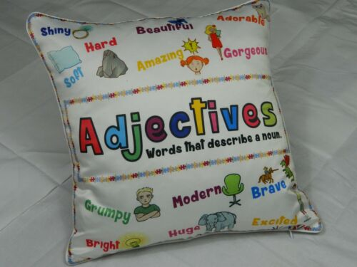 Faux Silk Piped Cushion Covers Educational Plants Animals Modern Covers New
