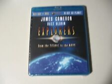 Explorers: From the Titanic to the Moon (Blu-ray/DVD) Brand New & Sealed