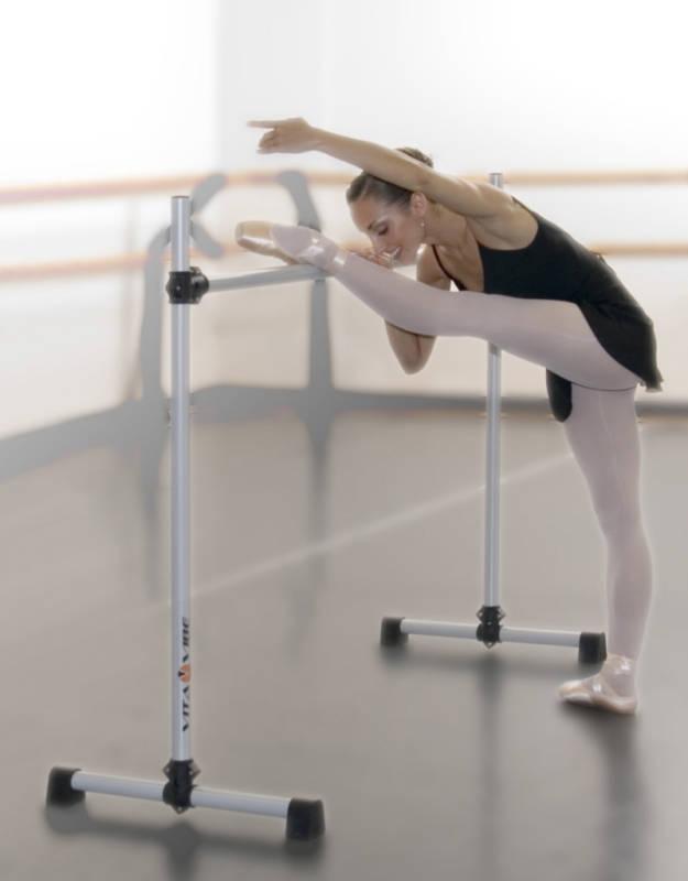 Ballet Barre B60 5 FT (environ 1.52 m) portable unique Bar-Stretch Dance Bar-Vita Vibe NEUF