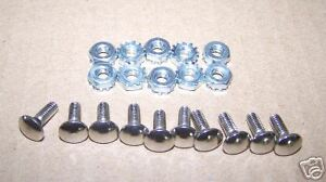 MS PACMAN, PACMAN, GALAGA **MIDWAY CONTROL PANEL BOLTS