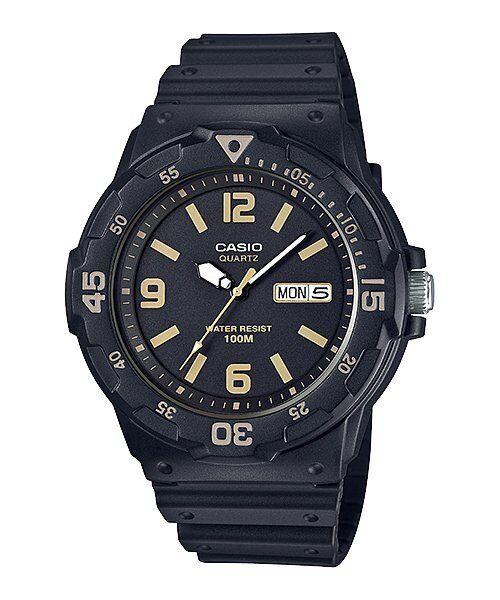 MRW-200H-1B3 Black Casio Men's Watches Resin Band Analog New