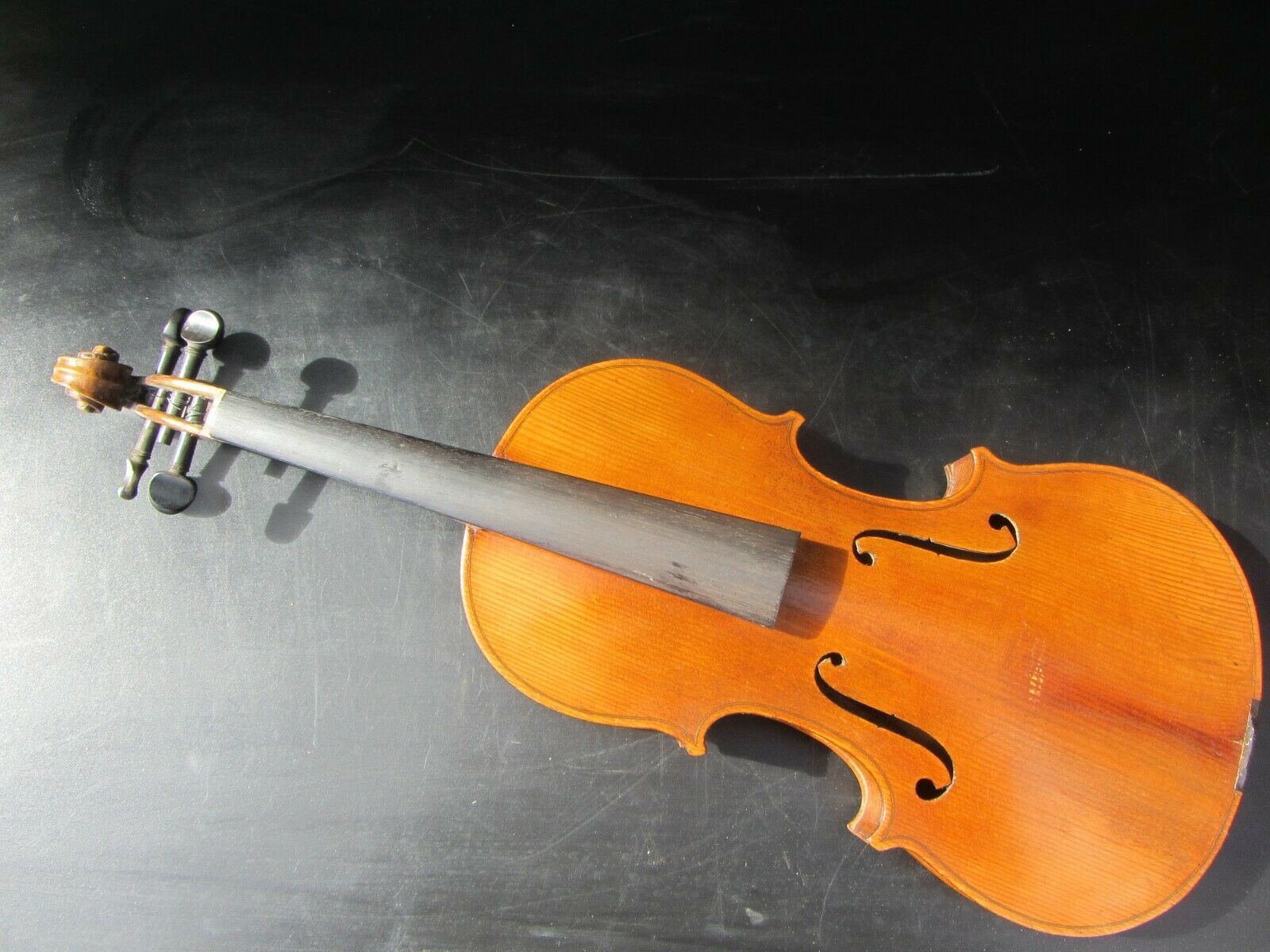 Alte Geige Violine ca 58,5 cm Korpus ca. 35,8 cm Full Größe