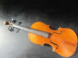 Ancien Violon Violon Ca 58,5 Cm Corpus Environ 35,8 Cm Full Size-afficher Le Titre D'origine
