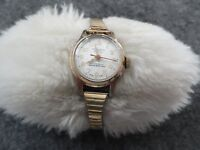 Swiss Made Vintage Rouen Wind Up Water Repellant Ladies Watch