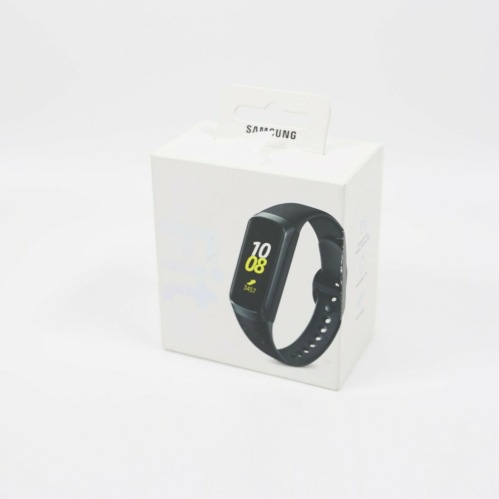 Samsung Galaxy Fit Activity Tracker + Heart Rate Water Resistant SM-R370 (Black)