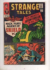 Strange-Tales-135-1ST-NICK-FURY-AGENT-of-SHIELD-KIRBY-Dr-Strange-Ditko-VG
