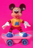 PINK MICKEY MOUSE WIND UP SKATEBOARD DISNEY MASUDAYA DONALD DUCK ALSO AVAILABLE