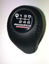 Mazda Speed Shift Knob Fits For Mazda3 6 Miata Mx5 Mx6 6 Speed Black
