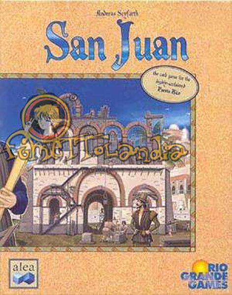 Rio Grande Boardgame San Juan Box NM